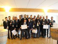 Delegazione Urbino Montefeltro dell'Ais ha diplomato 26 nuovi sommelier
