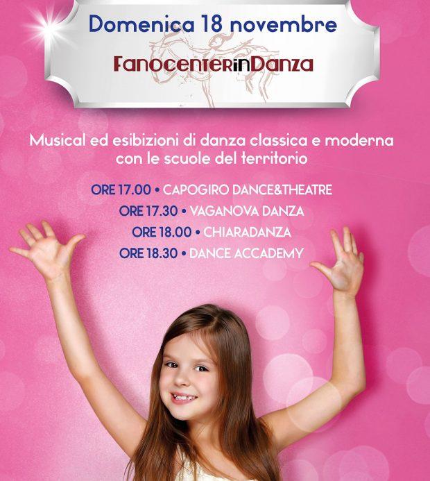 Al Fanocenter si balla con le scuole di danza di Fano