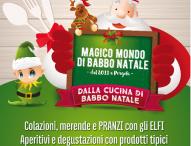 A Pergola laboratori, letture, giochi e pranzi nel Magico Mondo di Babbo Natale