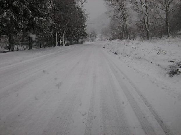 Neve, allerta meteo: Provincia pronta ad intervenire