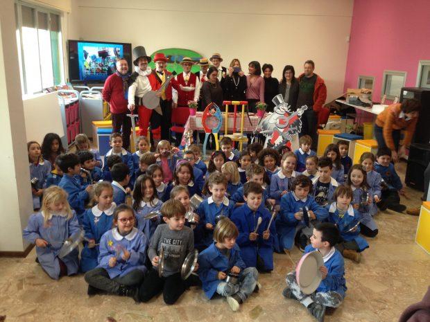 Il Carnevale di Fano entra nelle scuole  con le sue tradizioni, il Vulòn e la Musica Arabita