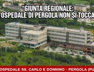 """Sanità, Baldelli: """"Pd e ospedale di Pergola: ennesima farsa a fini elettorali"""""""