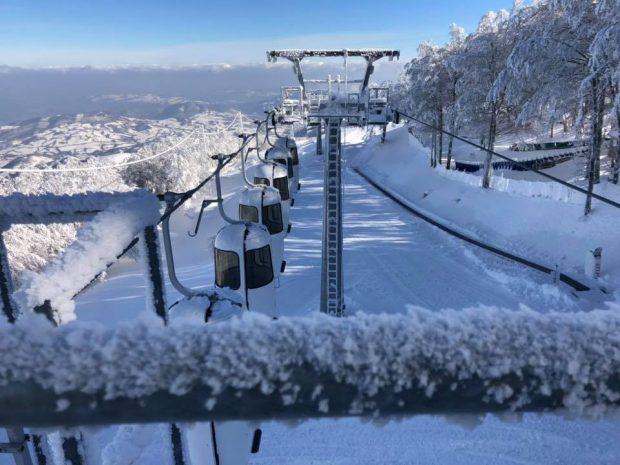 Monte Catria, cabinovia pronta: scatta la stagione