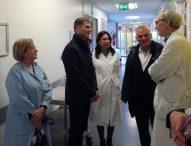 """""""Il Salesi un'eccellenza della nostra Regione"""", il consigliere regionale Talè in visita all'ospedale pediatrico"""