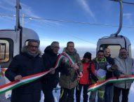 Inaugurata la nuova cabinovia del Monte Catria