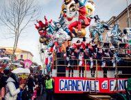 Il Carnevale di Fano 2019 è pronto per il suo ultimo atto. Madrina dell'evento Annalisa Minetti