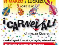 A Cartoceto e Lucrezia I Carnevali di mezza Quaresima