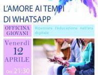 ApertaMente, a Pergola l'incontro 'L'amore ai tempi di WhatsApp'