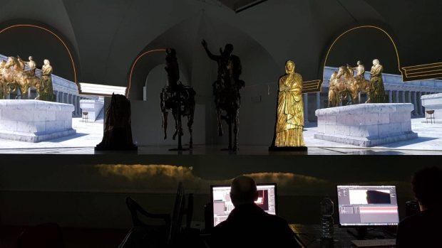 L'Oro di Pergola regala emozioni: apertura della nuova sala immersiva dei Bronzi Dorati