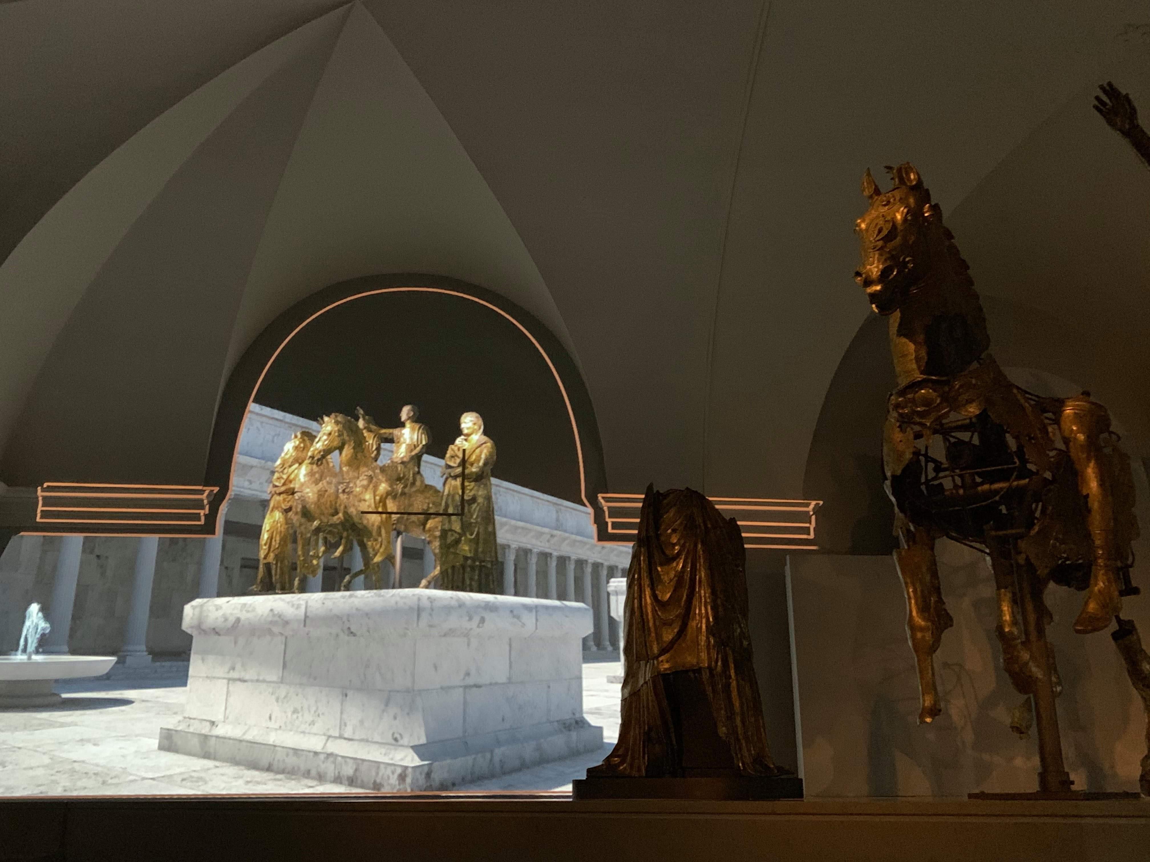 bronzi di pergola-sala immersiva