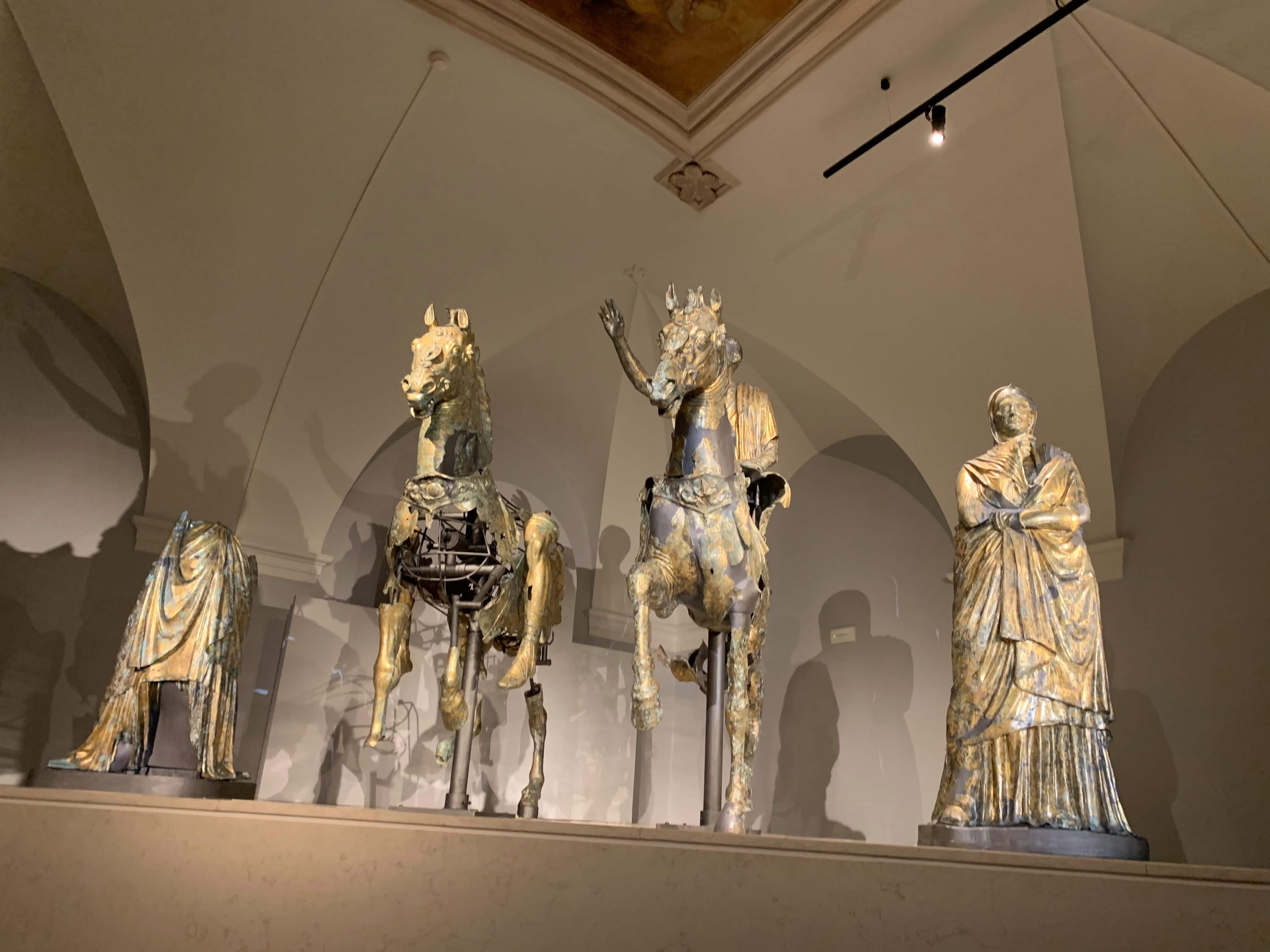 bronzi pergola-sala immersiva