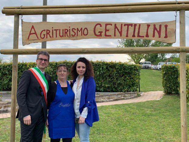 Inaugurato a Pergola l'agriturismo Gentilini