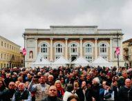 """Salvini: """"Dopo Pesaro e Fano obiettivo governare le Marche. Riapriremo ospedali chiusi dai compagni"""""""