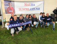 """Lacrime ed emozioni, a Mattia intitolato il campo sportivo di Frontone: """"Per sempre nei nostri cuori"""""""