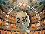 A Cagli si festeggia il ventesimo anniversario della riapertura del Teatro Comunale
