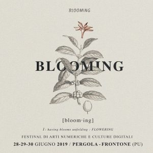 Blooming Festival 2019 - artwork