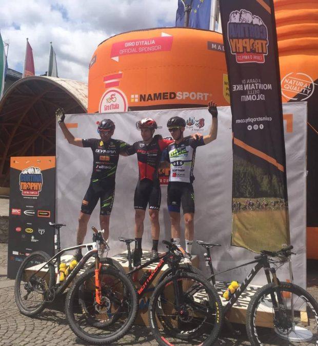 Bike Therapy Pergola sul podio anche a Cortina