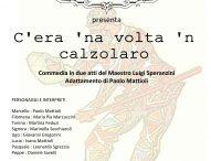 'C'era 'na volta 'n calzolaro', doppio appuntamento a San Lorenzo con la compagnia teatrale L'Aquilone
