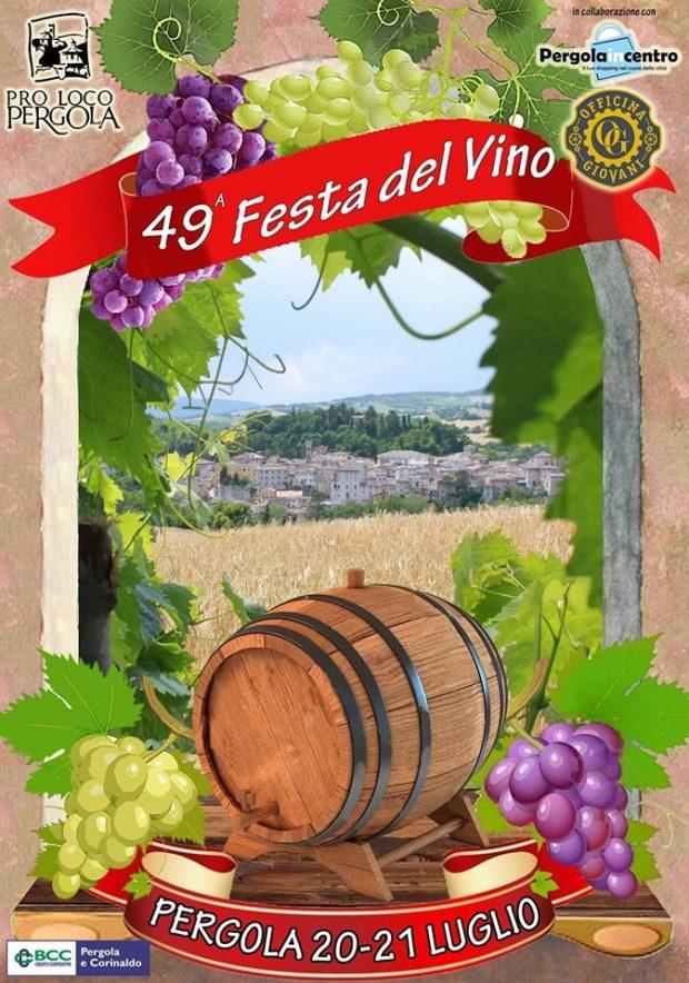 A Pergola la 49esima Festa del Vino: tipicità e divertimento
