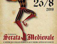 A Pergola la Serata Medievale: gruppi storici, spettacoli, antichi mestieri e piatti tipici