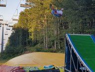 Monte Catria, un paradiso anche d'estate. Divertimento assicurato con il Tubbyng Jump BigAir
