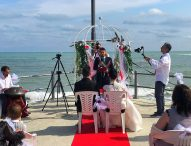 Al Molo di Marotta celebrato il primo matrimonio civile