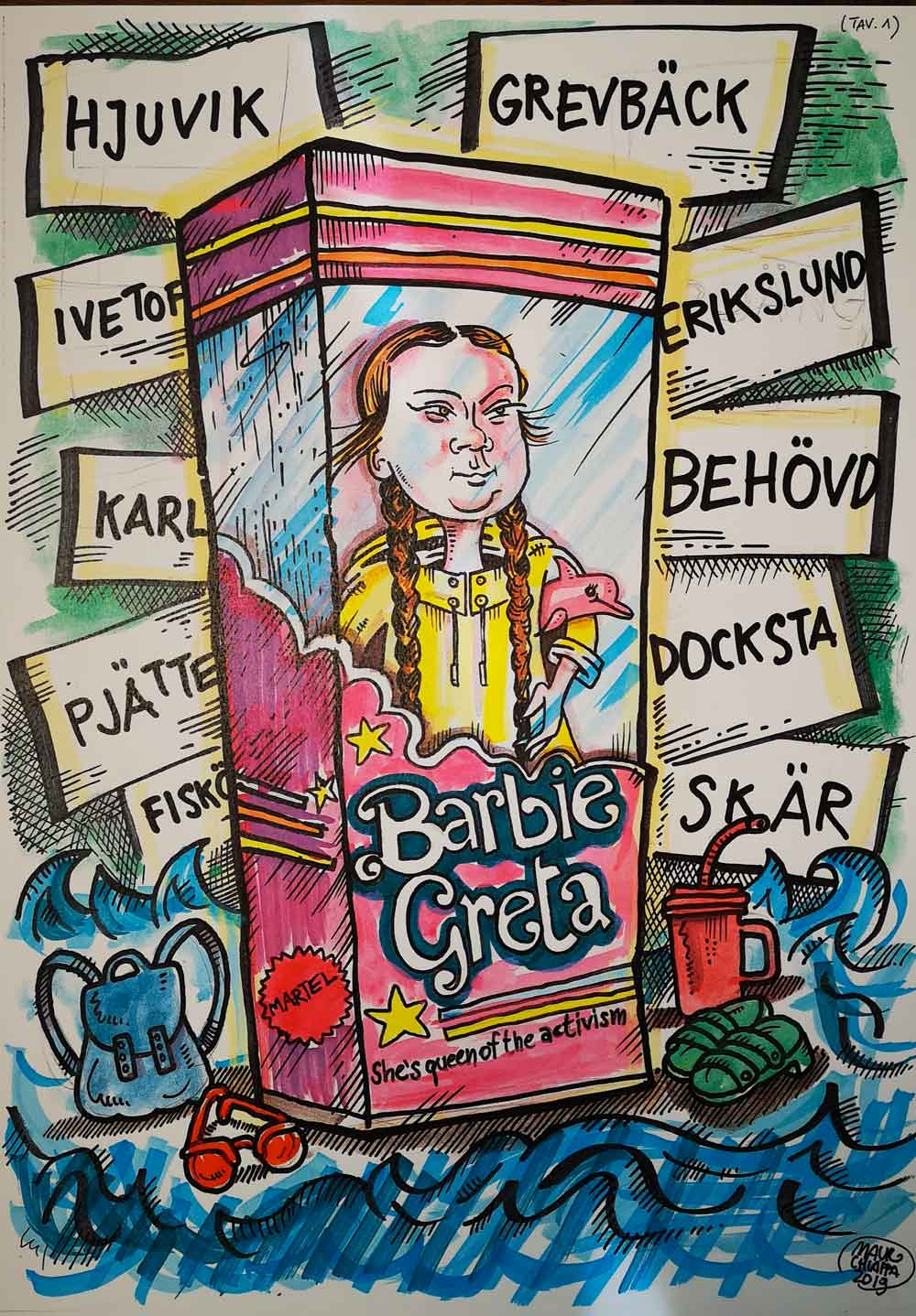 Barbie-Greta