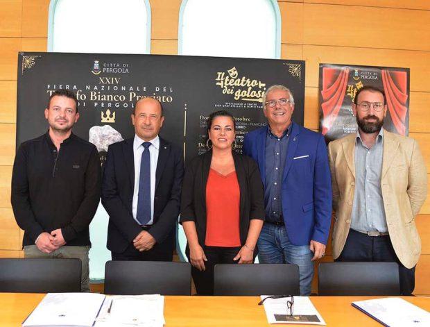 A Pergola la Fiera Nazionale del Tartufo: chef stellati, mostra mercato, ospiti prestigiosi e cultura