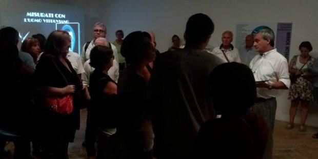 Approfondimenti e passi di danza rinascimentale alla mostra Leonardo e Vitruvio