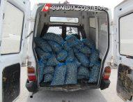 Pesca di frodo, sequestrati 750 kg di vongole
