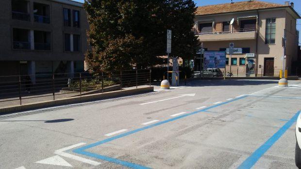 Sosta blu, conclusi a Fano i lavori che riqualificano le aree. Interventi a sostegno della mobilità dolce
