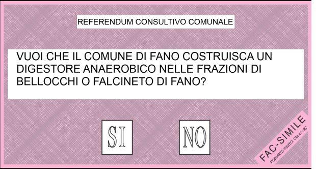 """Delvecchio: """"Referendum consultivo sul digestore"""""""