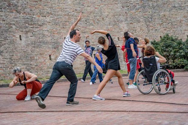 Danza inclusiva,da Pergolain Inghilterra per il progetto europeo Dance in