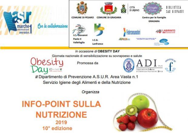Obesity Day, Asur organizza Info-Point sulla nutrizione
