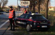 Carabinieri della compagnia di Fano in azione a Mondavio, Cartoceto, Fossombrone e Colli al Metauro