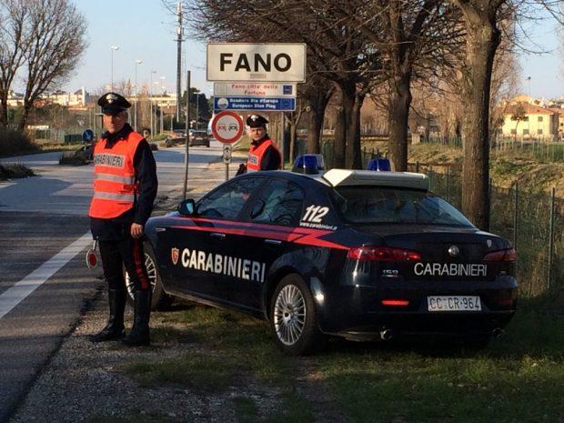 Fano, spacciatore in overdose arrestato dai carabinieri