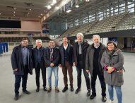 Nuovo Palas Fano, tour nei palazzetti italiani dei componenti del tavolo tecnico