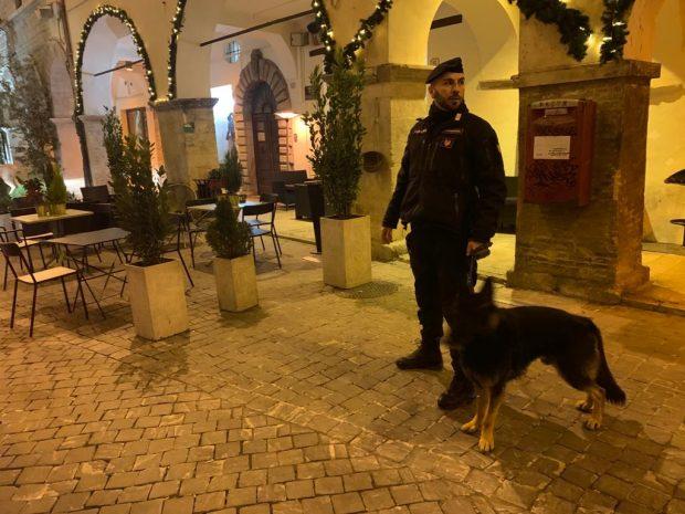 Controlli dei carabinieri a Fossombrone: due giovani nei guai