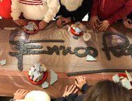 A Marotta 'Il mare d'inverno' diventa un mosaico grazie alle scuole, all'Amministrazione comunale e Associazione ChiaroScuro