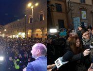 Salvini-Santori a Pesaro: scatta la campagna elettorale per le regionali