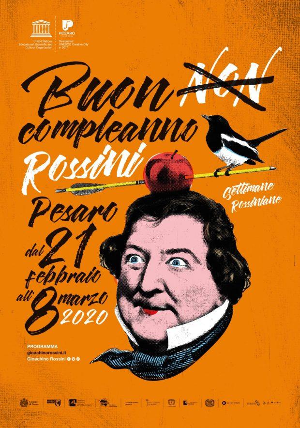 Buon compleanno Rossini! Dal 21 febbraio all'8 marzo concerti, incontri, visite guidate, laboratori