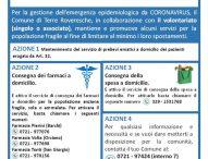 Emergenza Coronavirus, Terre Roveresce vicino ai più fragili