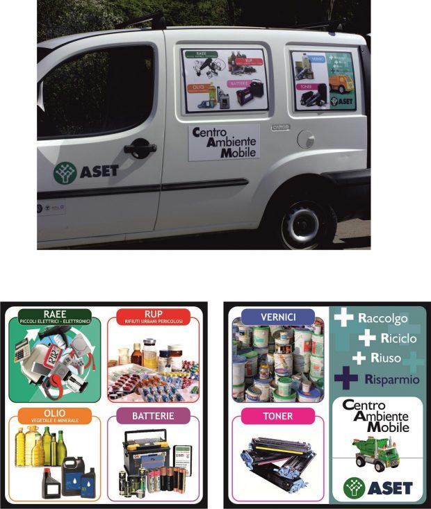 Aset, nuovo orario per il Centro ambientale mobile