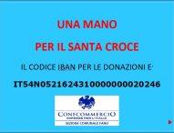 """""""Una mano per il Santa Croce"""": raccolta fondi lanciata dalla Confcommercio di Fano"""