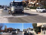 Coronavirus, a Mondolfo Marotta iniziata sanificazione strade. Chiuso cimitero comunale