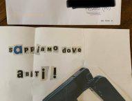 Pesaro, lettera con minacce a Ricci raffigurante pistola e bossoli
