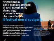 Per Animavì Festival un anno di pausa