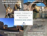 Tutti i musei e gli Iat gestiti da Confcommercio Pesaro Urbino riaprono il 18 maggio