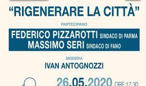 Fano Capitale italiana della cultura, Seri incontra online il sindaco di Parma Pizzarotti