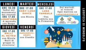 Mondolfo Marotta, Ludoteca comunale ogni giorno in diretta Facebook: il programma